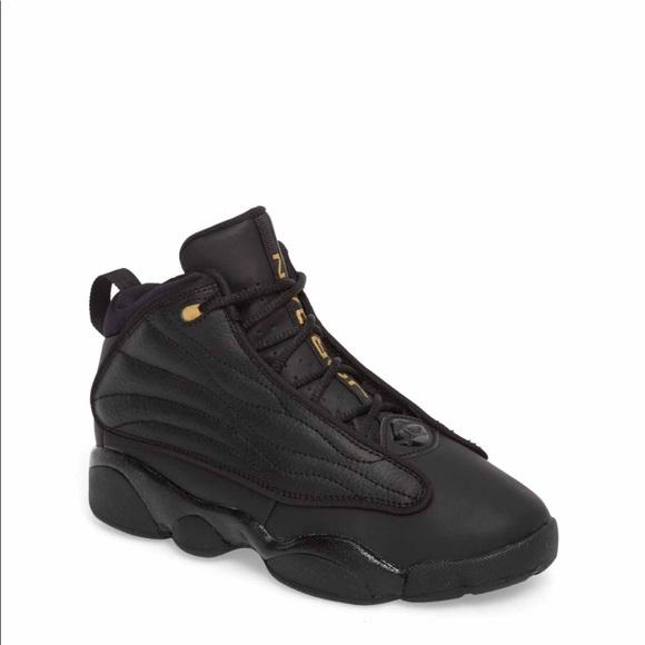 Jordan Pro Strong Bg Black Gold